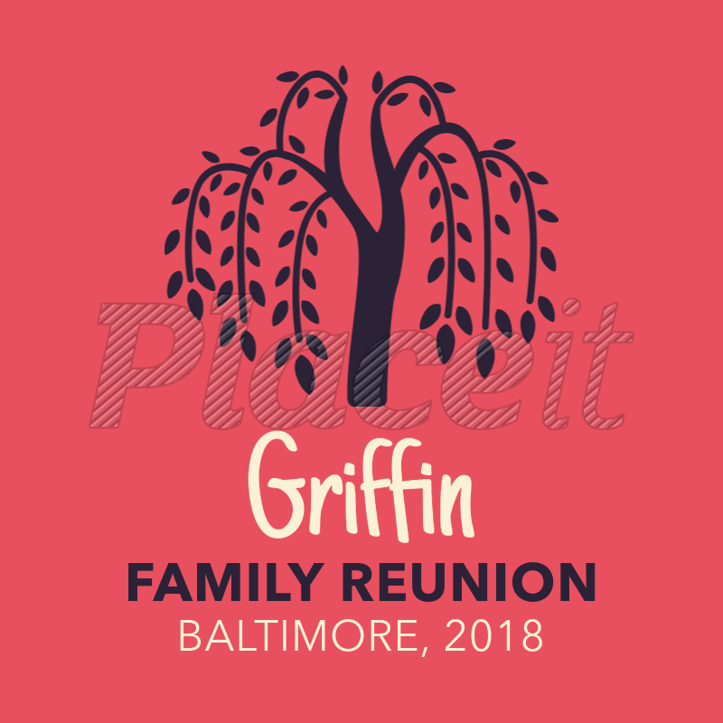Placeit Family Tree Design T Shirt Template