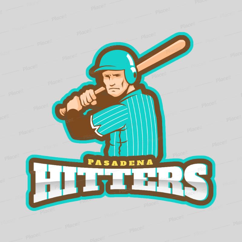 placeit baseball logo maker