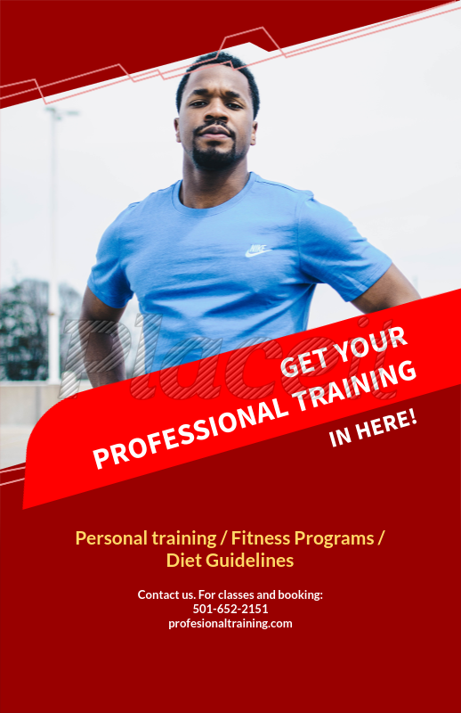 placeit online flyer maker for fitness programs