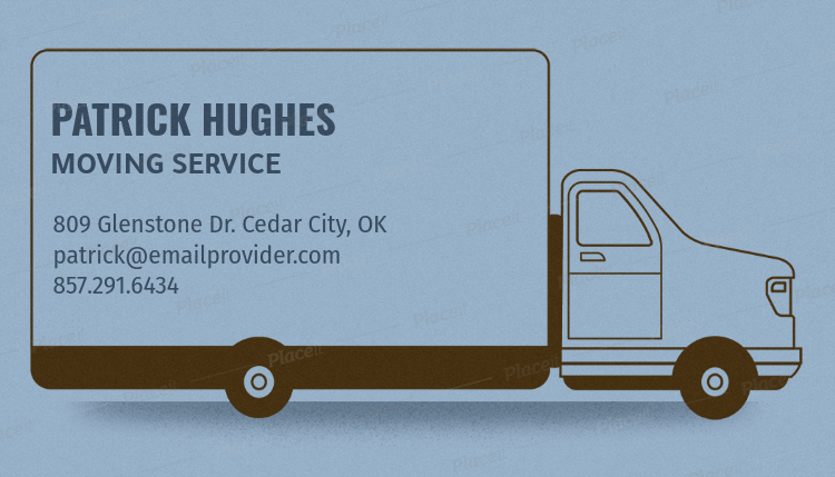 Placeit removalist business card template with truck graphics removalist business card template with truck graphics 556cforeground image colourmoves