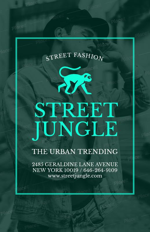 online flyer maker for clothing shop 504foreground image
