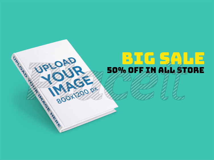 Ebook Ads Angled Hard Cover Book A16563