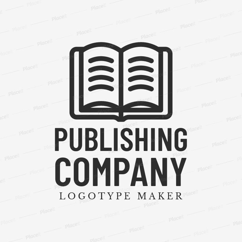 Placeit Logo Maker To Design A Writer Or Book Logo
