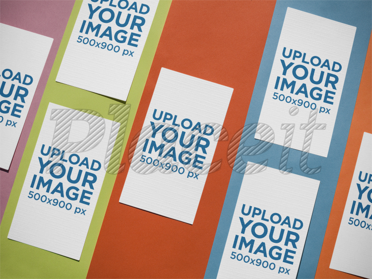 Placeit vertical business cards template on different colors vertical business cards template on different colors a14988foreground image cheaphphosting Gallery