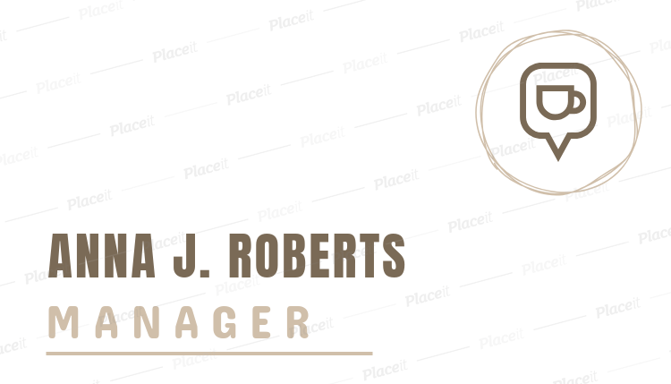 Placeit caf manager online business card template caf manager online business card template 505eforeground image accmission Image collections