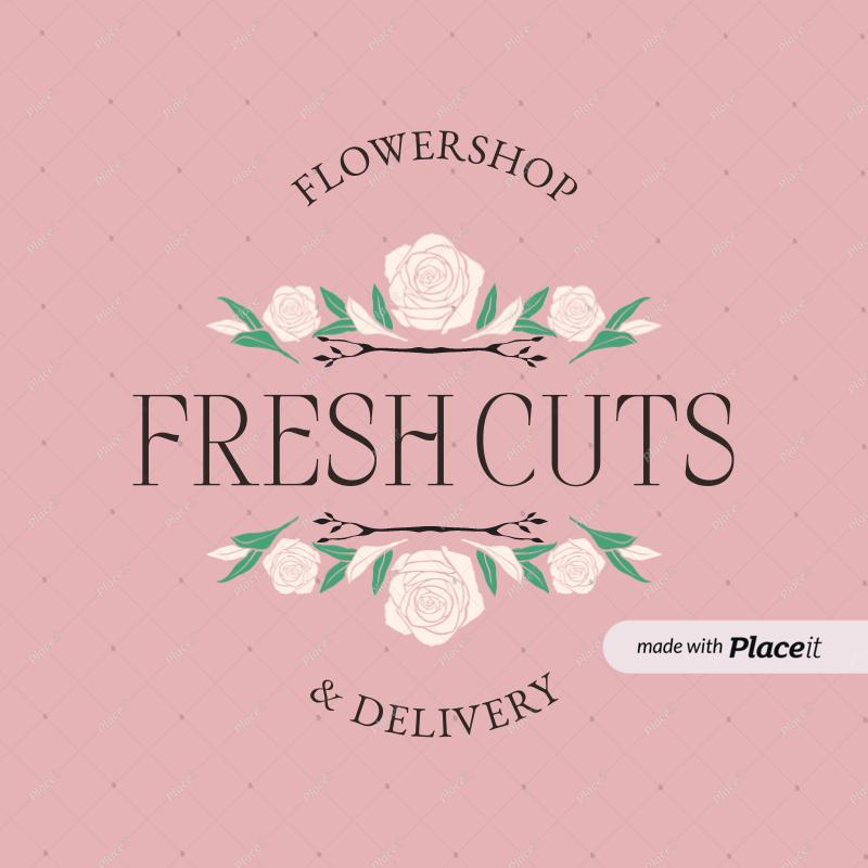 Flower Shop Logo Png