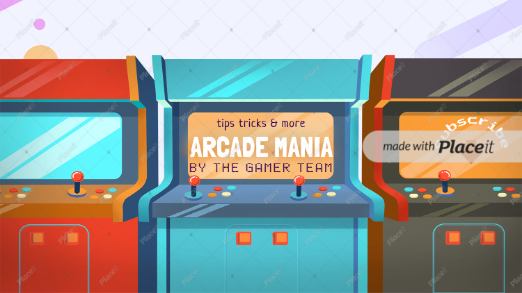 placeit arcade gaming channel banner maker