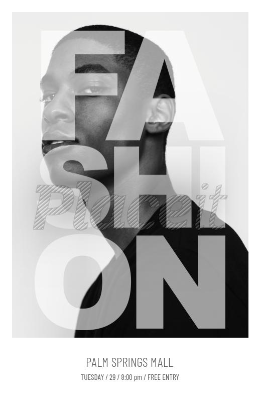 placeit online flyer maker for men s fashion