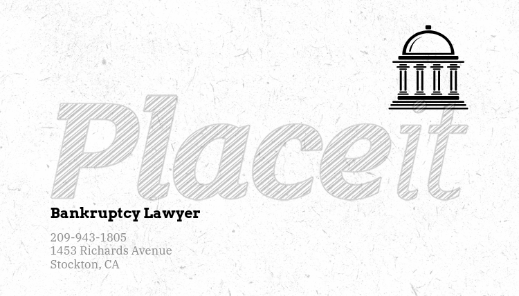 Placeit business card template for bankruptcy lawyers business card template for bankruptcy lawyers 566eforeground image reheart Image collections
