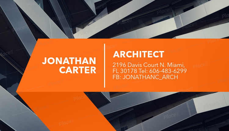 Placeit architecture firm business card maker architecture firm business card maker a316foreground image reheart Choice Image