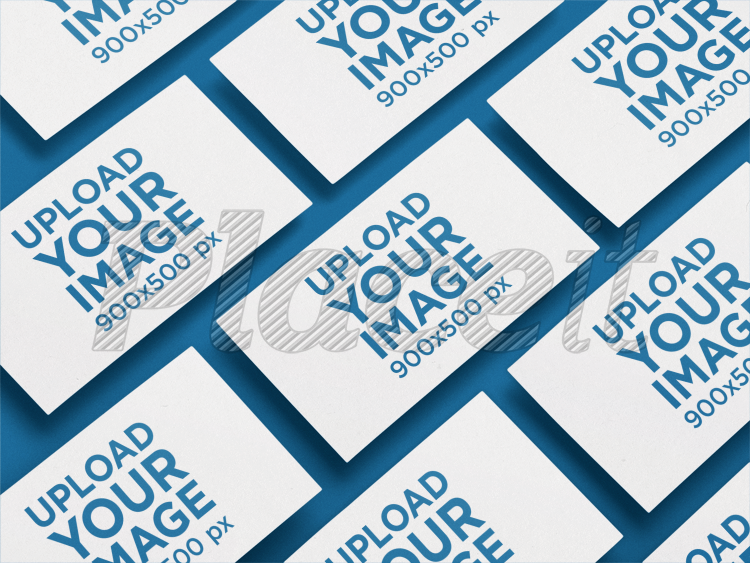 Placeit business card mockup of multiple cards in an angled business card mockup of multiple cards in an angled arrangement a6222foreground image colourmoves