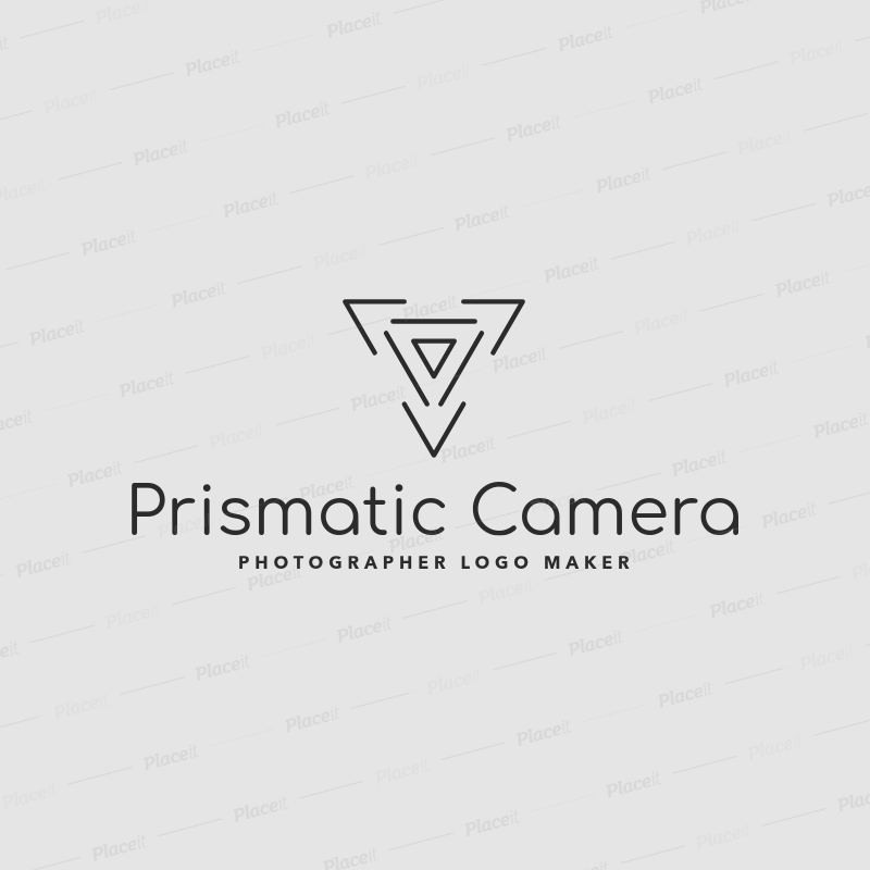 Placeit Logo Template For A Photo Studio