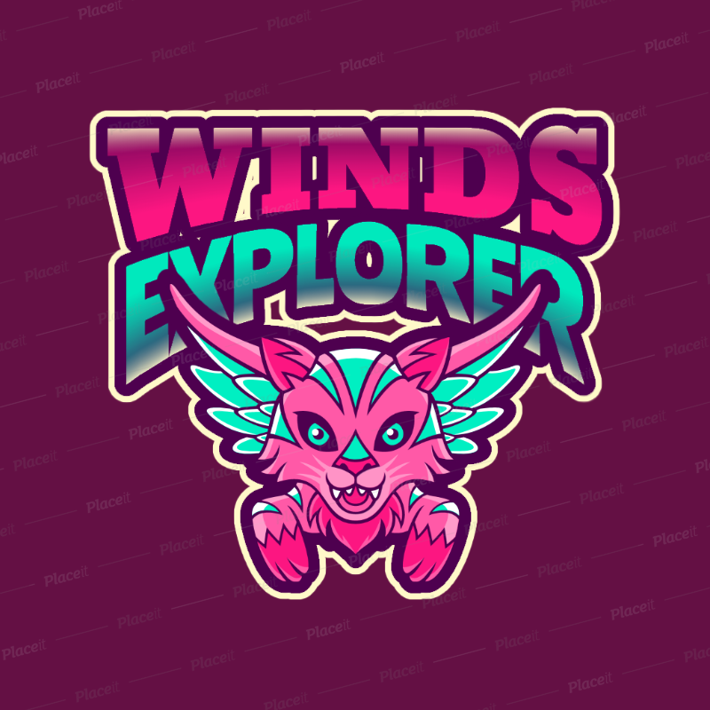Fantasy Logo Generator with a Flying Tiger Character 2766ff