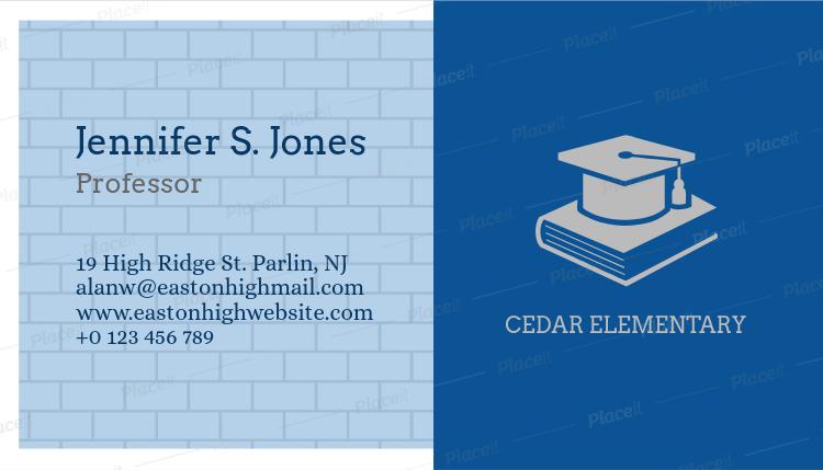 Placeit professor business card maker professor business card maker 228aforeground image colourmoves
