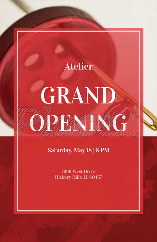 placeit grand opening online flyer maker