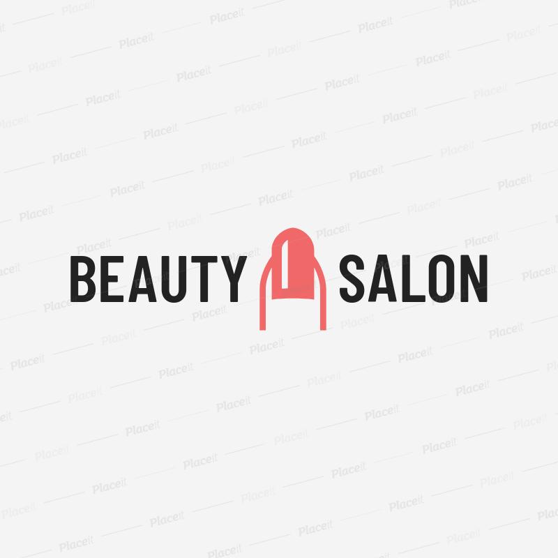 placeit nail salon logo maker